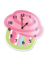 Cupcake Wall Clock by