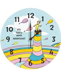Dr. Seuss Kid You ll Move Mountains Wall Clock by