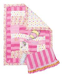 Dr Seuss  Oh the Places You Will Go Pink Bedding
