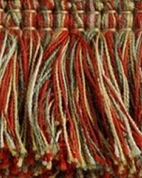 Red Brimar Trim Brimar Brush Fringe Picante Mixed