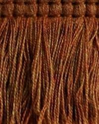 Orange Brimar Trim Brimar Brush Fringe Suntan