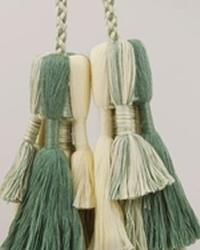 Double Tassel Tieback Key Lime Mixed by