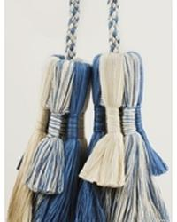 Double Tassel Tieback Surf Mixed by