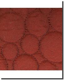 Catania Silks Bubble Embroidery Ruby Fabric