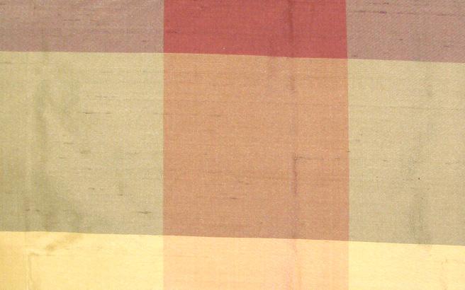 Catania Silks Dupion Checks Irene Fabric