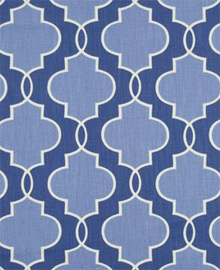Trellis Diamond Fabric