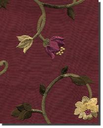 Floral Faux Silks Fabric
