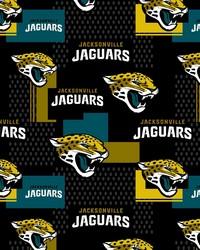 Jacksonville Jaguars Cotton Print by