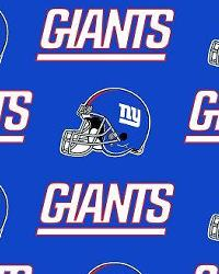 New York Giants Cotton Print by