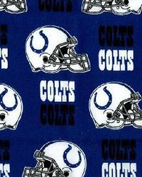 Indianapolis Colts Cotton Print by
