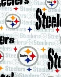 Pittsburgh Steelers Cotton Print by