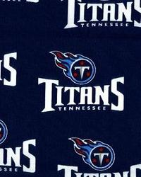 Tennessee Titans Cotton Print by