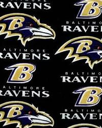 Baltimore Ravens Cotton Print by