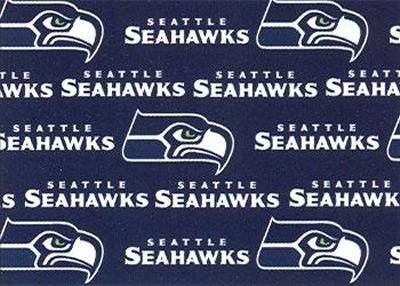 Seattle Seahawks Cotton Print Fabric Traditions Interior