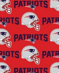 New England Patriots Cotton Print by