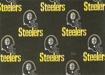Fabric Traditions Pittsburgh Steelers Cotton Print