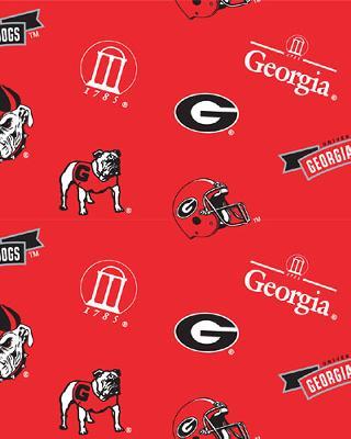 Georgia Bulldogs Fleece by