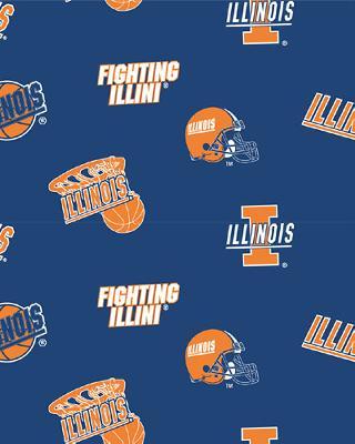 Illinois Fighting Illini Fleece by