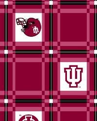 Indiana Hoosiers Vinyl Tablecloth by