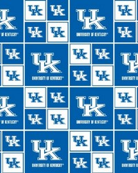 Kentucky Wildcats Cotton Print by
