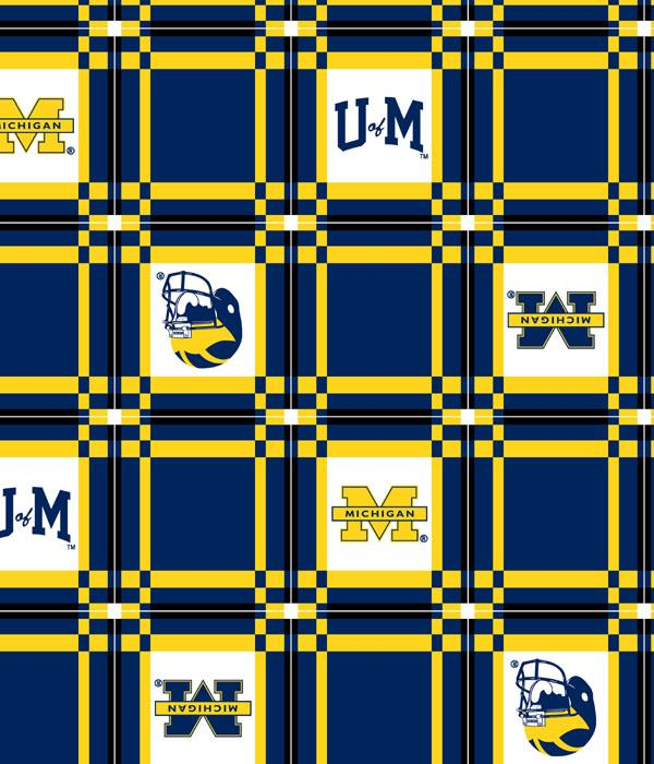 Foust Textiles Inc Fabrics Michigan Wolverines Vinyl Tablecloth Search  Results