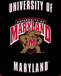 Maryland Terrapins Fleece Panel by