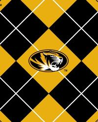 Missouri Tigers Argyle Fleece by
