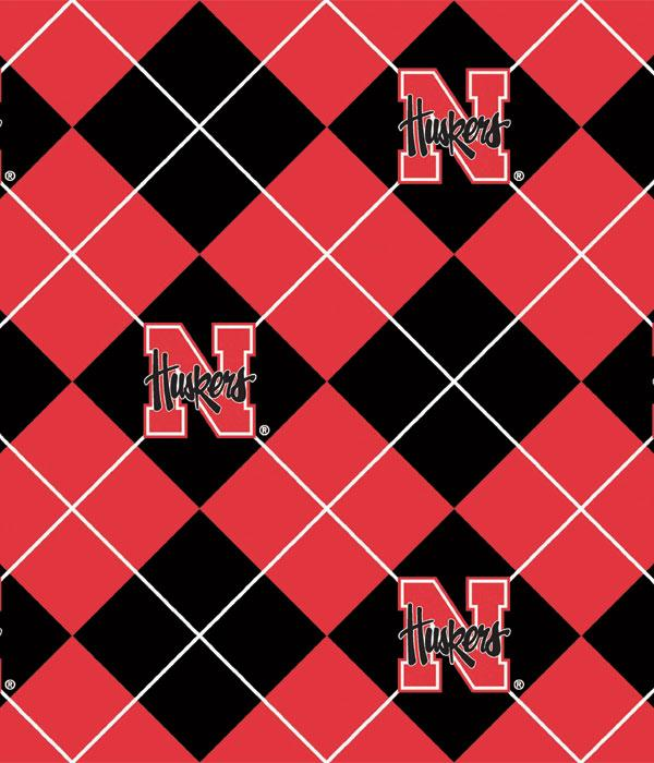 Foust Textiles Inc Fabrics Nebraska Cornhuskers Argyle
