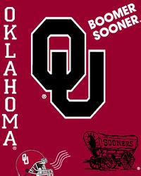 Oklahoma Fleece Panel by