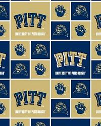 Pittsburgh Panthers Cotton Print by