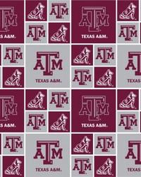 Texas AM Aggies Cotton Print by