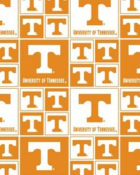 Tennessee Volunteers Cotton Print by