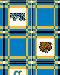 Foust Textiles Inc UCLA Bruins Vinyl Tablecloth Fabric