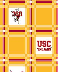 Foust Textiles Inc Southern California Trojans Vinyl Tablecloth Fabric