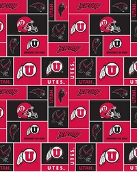 Utah Utes Block Fleece by