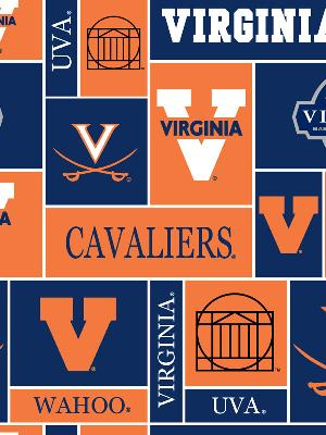 Virginia Cavaliers Block Fleece by
