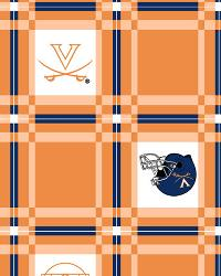 Foust Textiles Inc Virginia Cavaliers Vinyl Tablecloth Fabric