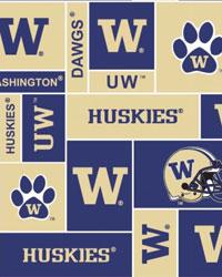 Washington Huskies Block Fleece by
