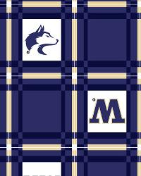 Washington Huskies Vinyl Tablecloth by