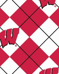 Wisconsin Badgers Argyle Fleece by