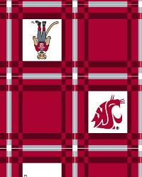 Washington State Cougars Vinyl Tablecloth by