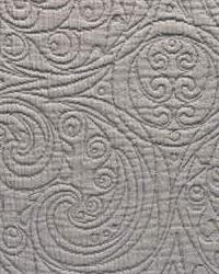 Grey Quilted Matelasse Fabric  PF50135 566