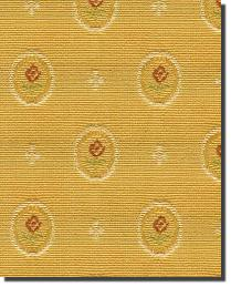 Yellow Small Print Floral Fabric  91404 Honey