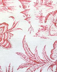 Red Oriental Fabric  Imperial Journey Red