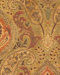 Multi Classic Paisley Fabric  Madison Chutney