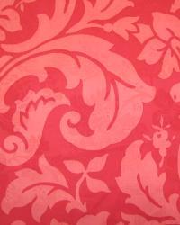 Red Large Print Floral Fabric  Fiorenza BEN Grenadine