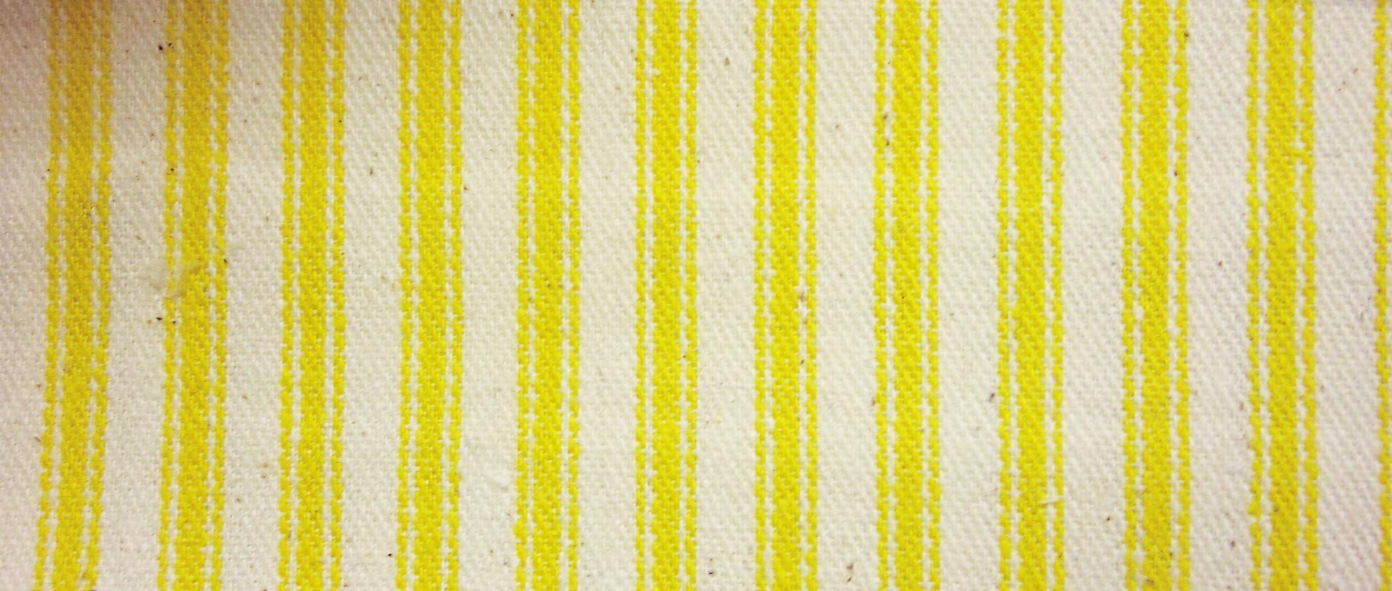 James thompson fabrics ticking stripe sun yellow interiordecorating com