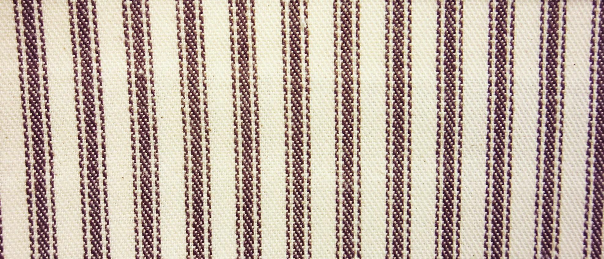 James thompson fabrics ticking stripe potting soil for Potting soil clearance