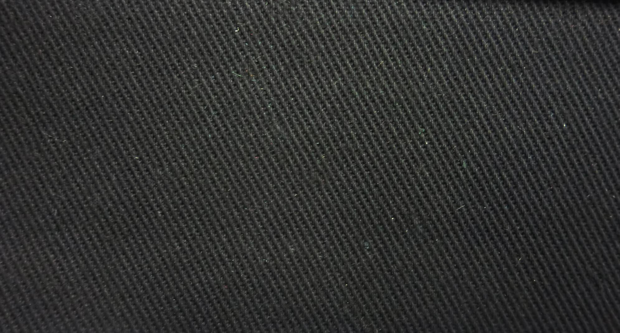 James Thompson Fabrics Micro Brush Twill Black ...