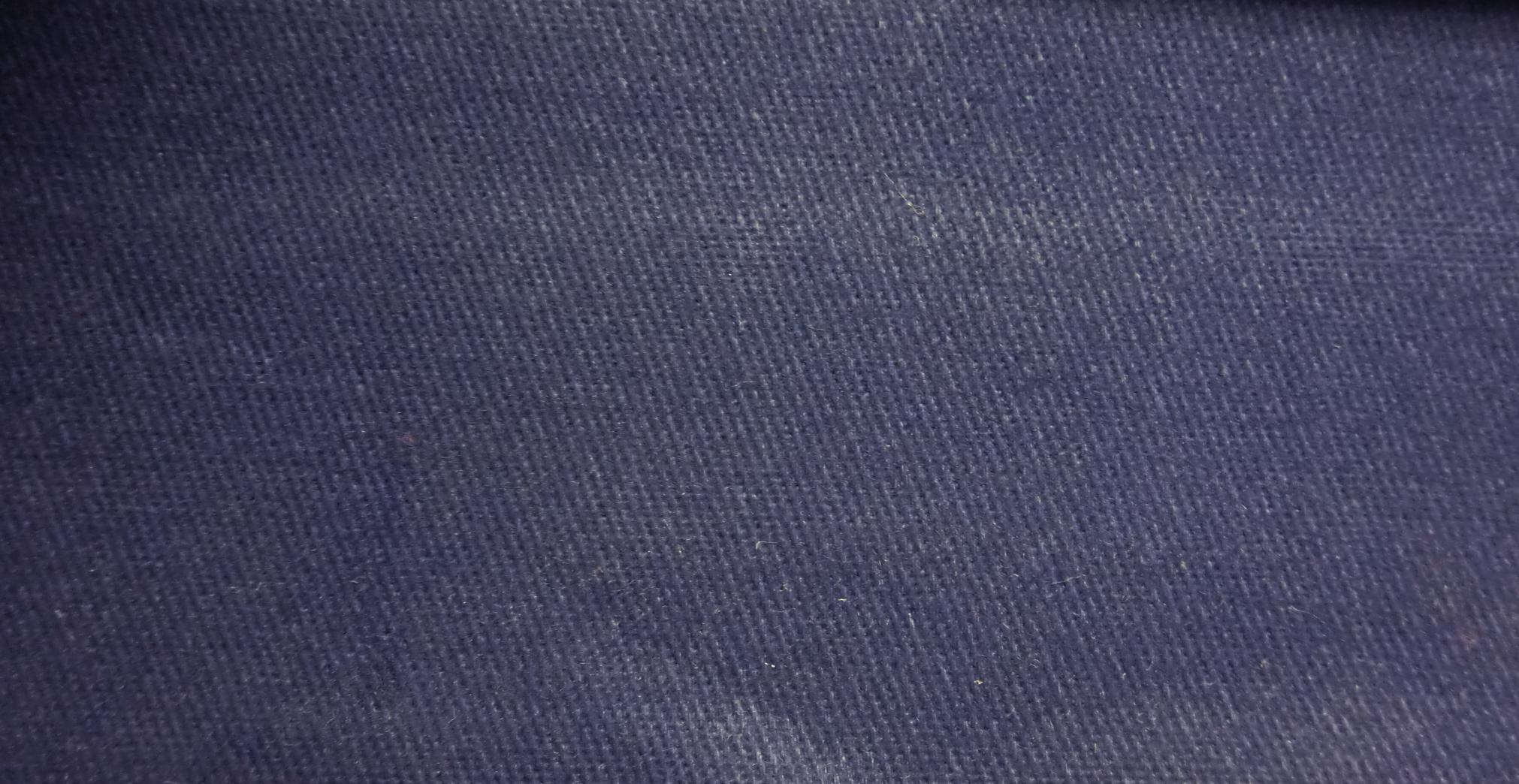 James Thompson Fabrics Micro Brush Twill Navy